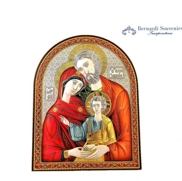 Quadro Argento925 Sacra Famiglia