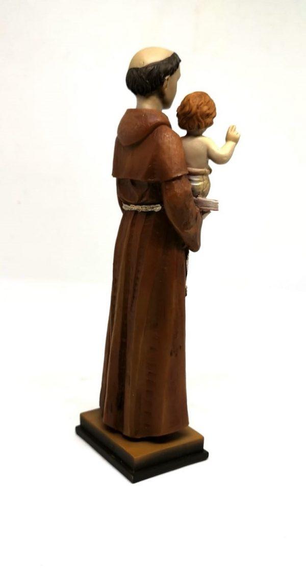 Statua Sant'Antonio 20 cm retro