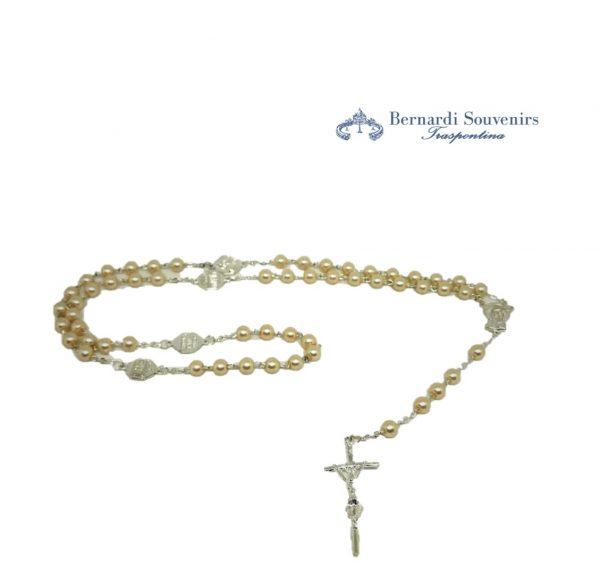 rosario 4 basiliche argento