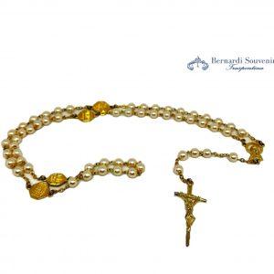rosario 4 basiliche oro