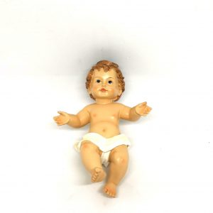 Bambin Gesù 15 cm resina