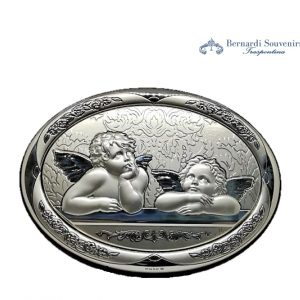 Quadro Argento925 Angeli cherubini di Raffaello