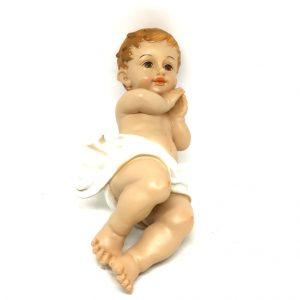 Statua Bambin Gesù 21 cm resina