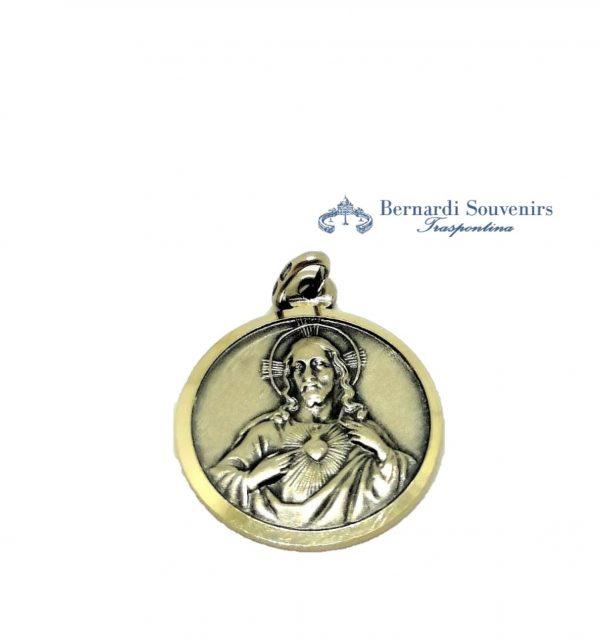 Medaglia Scapolare Argento 925