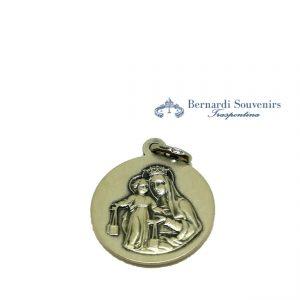Medaglia Scapolare Argento 925 retro