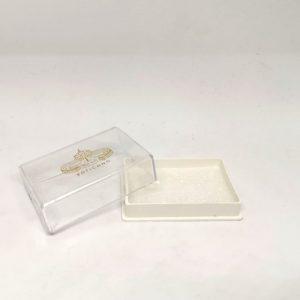 Scatola Rosario Vaticano grano 8 mm