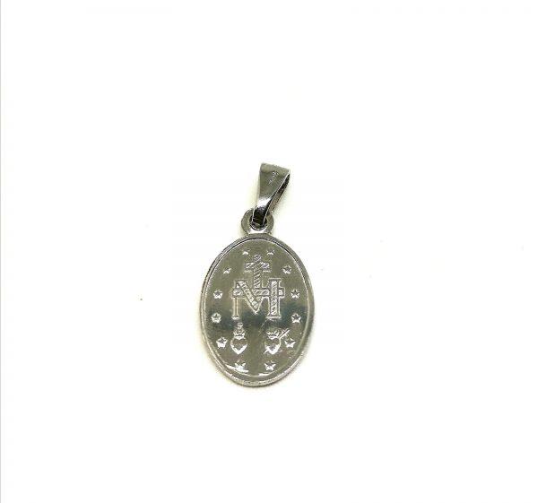 Medaglia Miracolosa Argento 925 retro