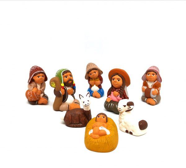 Presepe Peruviano Terracotta