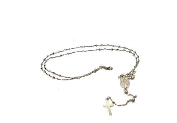 Rosario Medaglia Miracolosa argento 925