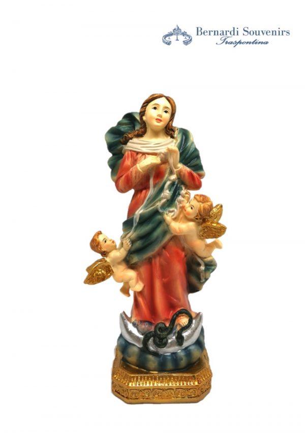 Statua Madonna che scioglie i nodi 15 cm