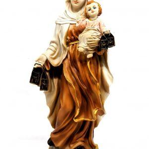 Statua Madonna del Carmelo 20 cm