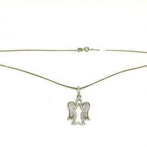 Collana argento 925 angelo