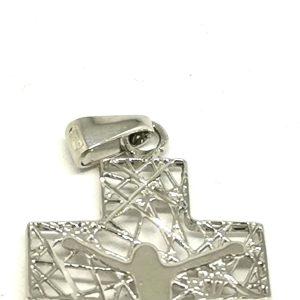 Croce pendente filigrana argento 925 particolare