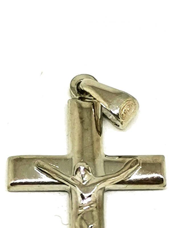 Croce pendente argento 925 Particolare