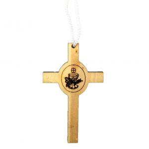 Croce legno prima comunione