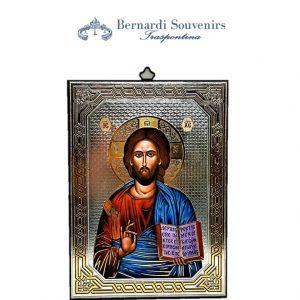 Icona legno Gesù Maestro