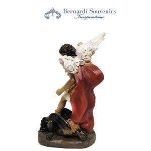 Statua San Michele 20 cm retro