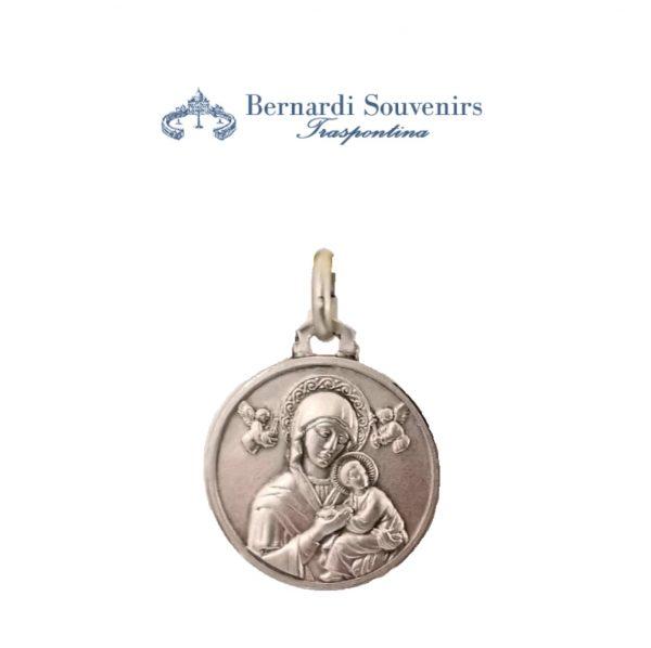 Medaglia Argento925 Madonna del Perpetuo soccorso