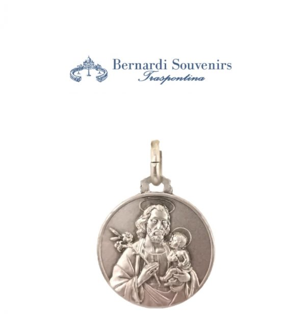 San Giuseppe Medaglia Argento925